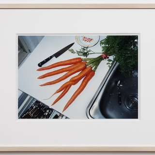 Mona Hatoum, A bunch of carrots (New York)