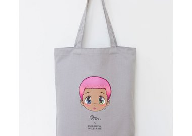work by Mr. - Mr. x Pharrell Williams Tote Bag
