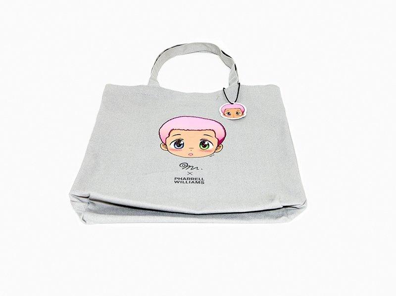 83c456d8855 Mr. - Mr. x Pharrell Williams Tote Bag for Sale | Artspace