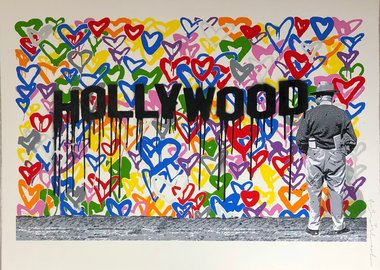 work by Mr. Brainwash - Hollywood