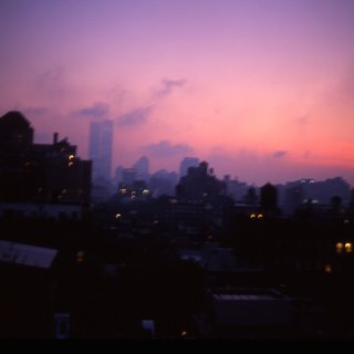 Apocalyptic Sky over Manhattan, NYC art for sale