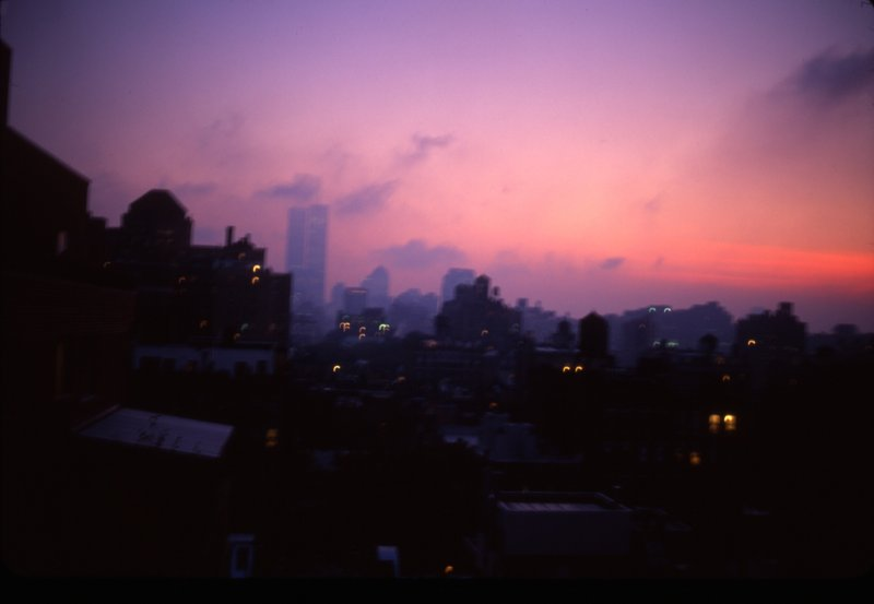 by nan_goldin - Apocalyptic Sky over Manhattan, NYC