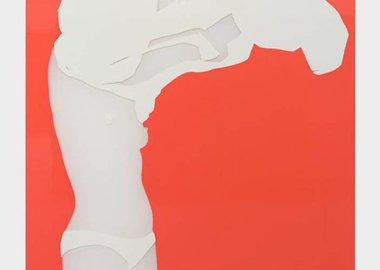 work by Natasha Law - Her Head In The Clouds
