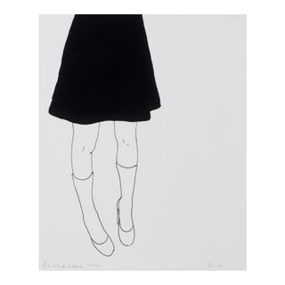 Black Skirt art for sale