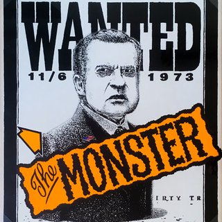 Neil Jenney, Wanted: The Monster