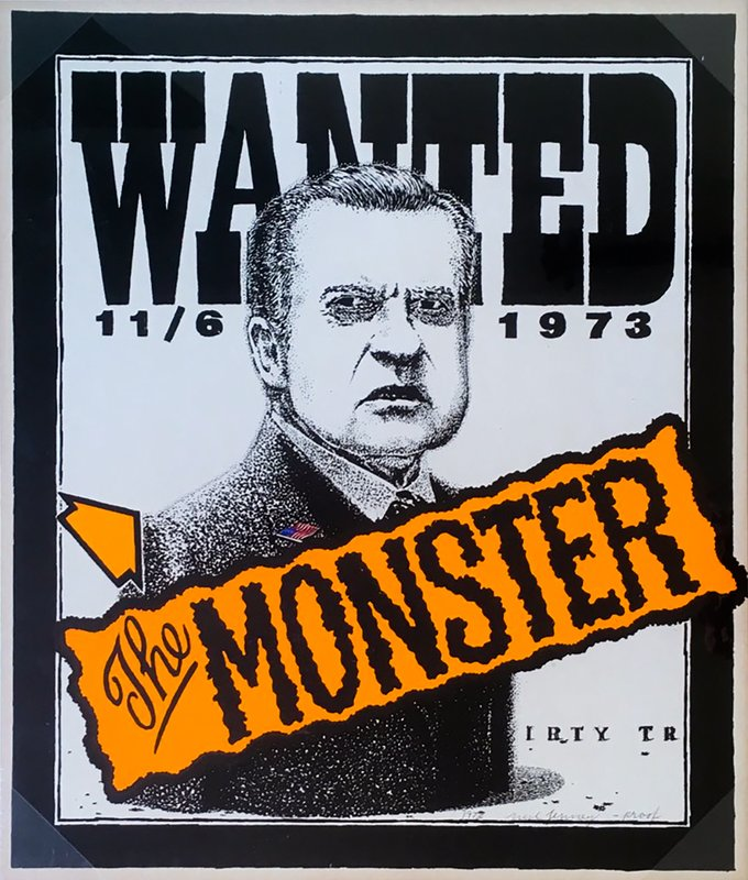 main work - Neil Jenney, Wanted: The Monster
