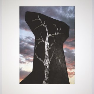 Sunsets and Blue Skies: Hollow Monument art for sale