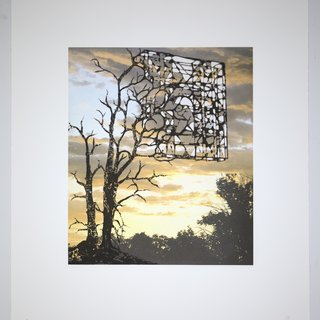 Sunsets and Blue Skies: Shards art for sale