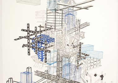 work by Nicola López - Infrastructure #1