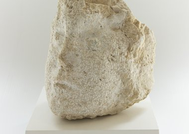 Nicolas Carone - Umbrian Head in Stone, 1