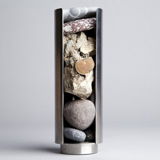 Rock Dispenser / model for outdoor sculpture art for sale