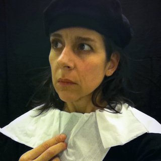 Nina Katchadourian, Lavatory Self-Portrait in the Flemish Style #10 (Seat Assignment project, 2010 - ongoing)