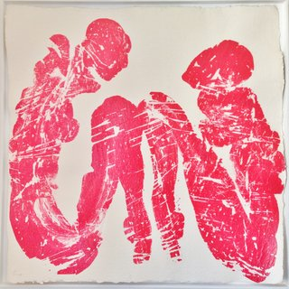 Dialog in Red art for sale