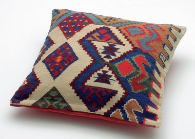 work by Olaf Nicolai - Georg's Pillow (Replica of a pillow from George...