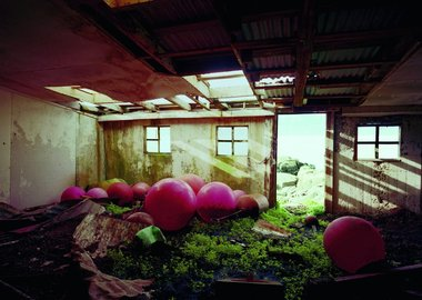 work by Olaf Otto Becker - BUOYS IN A BARN 07/2000