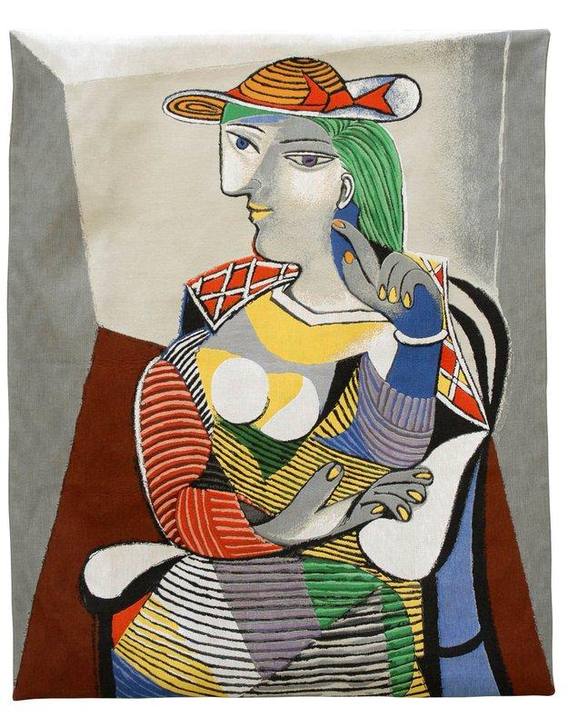 Pablo Picasso - Portrait de Marie Thérèse (tapestry) for Sale | Artspace