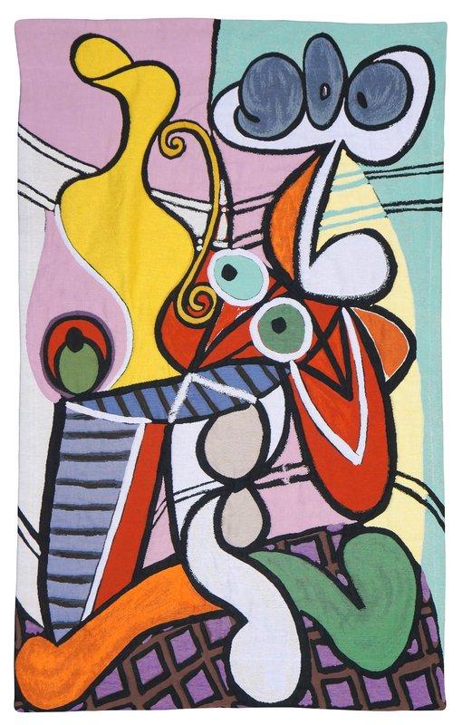 Pablo Picasso - Grande nature morte au guéridon (tapestry) for ...