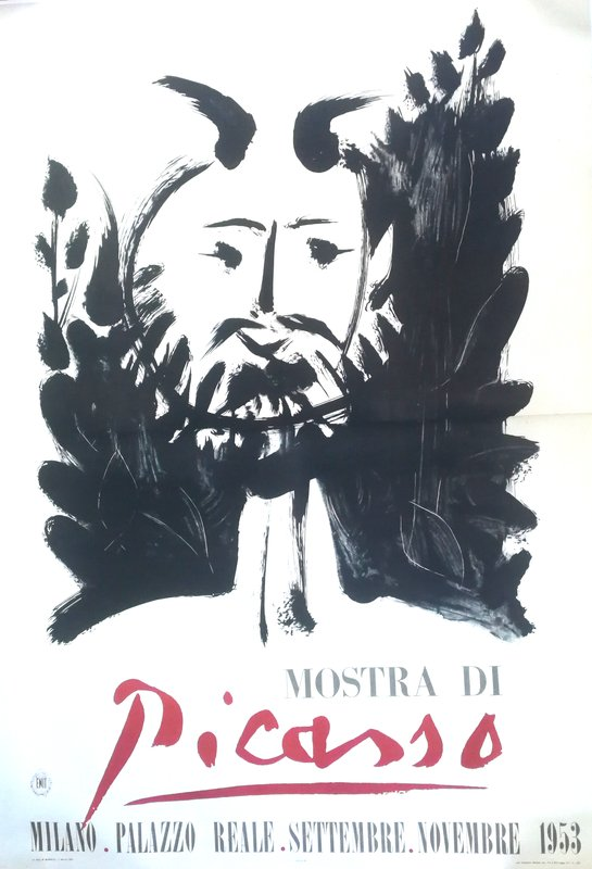 by pablo_picasso - Poster - Picasso Exhibition