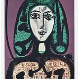 Pablo Picasso, The Woman With A Hair Net - Offset Print 1970s After P. Picasso