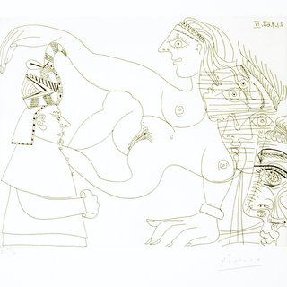 Pablo Picasso, Untitled, 21.9.68.IV.