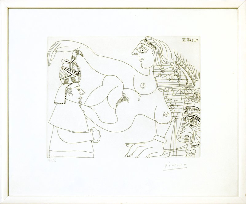 view:31823 - Pablo Picasso, Untitled, 21.9.68.IV. -