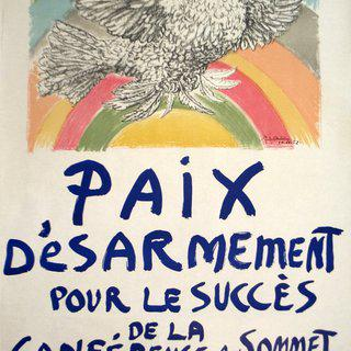 Paix Disarmement-Peace art for sale