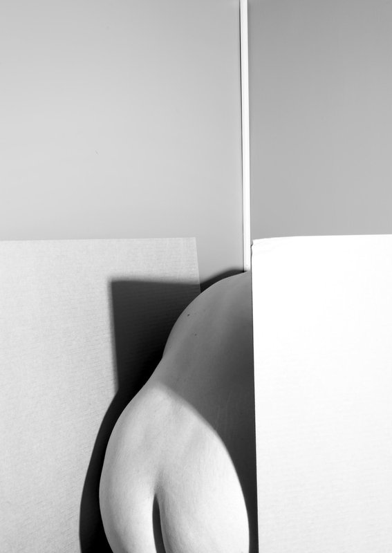 main work - Patricia Voulgaris, Self Portrait, from the series Fragments