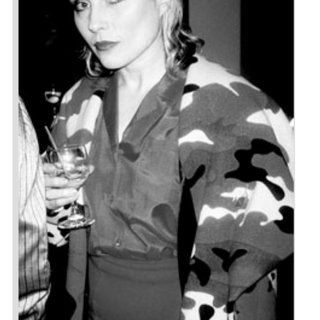 Debbie Harry at the Stephen Sprouse Store Opening art for sale