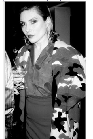 Patrick McMullan - Debbie Harry at the Stephen Sprouse Store Opening