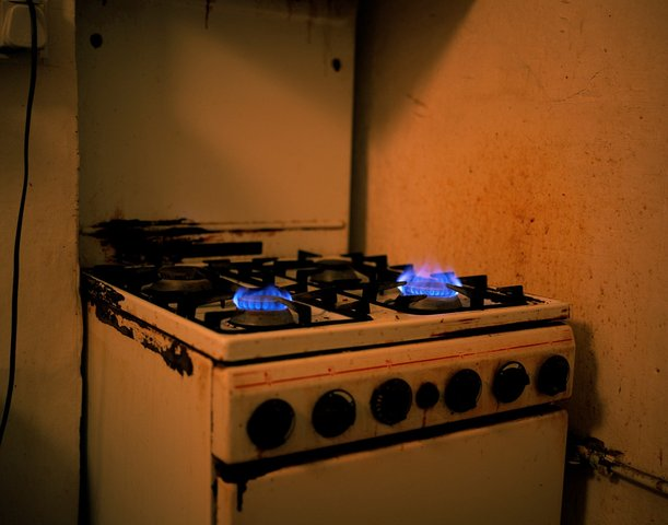 Paul Graham - Untitled (Cooker Flames)