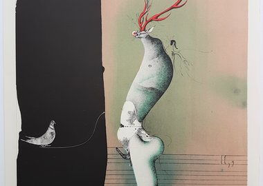Paul Wunderlich - From the Song of Songs, Salome II, 9