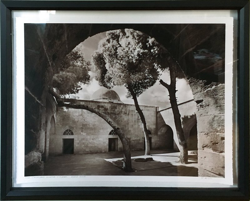 main work - Peter Aaron, Court of The Mosque of Abraham | Aleppo Citadel | Syria
