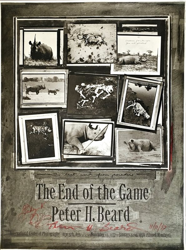 Peter Beard - The End of the Game (Hand Signed & Inscribed