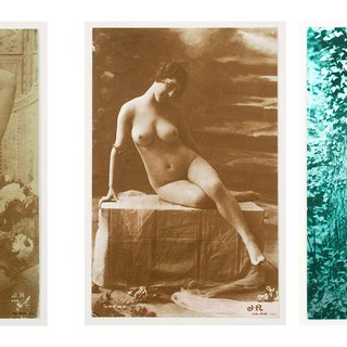 French Postcards art for sale