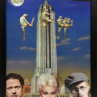 Dylan Thomas, Kim Novak and James Joyce in New York art for sale