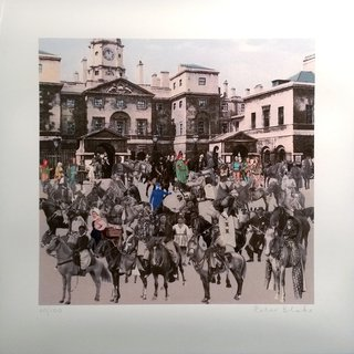 Horse guards Parade - Horses and Horsemen art for sale