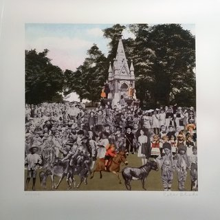 Regent's Park - The Runaway Donkeys art for sale
