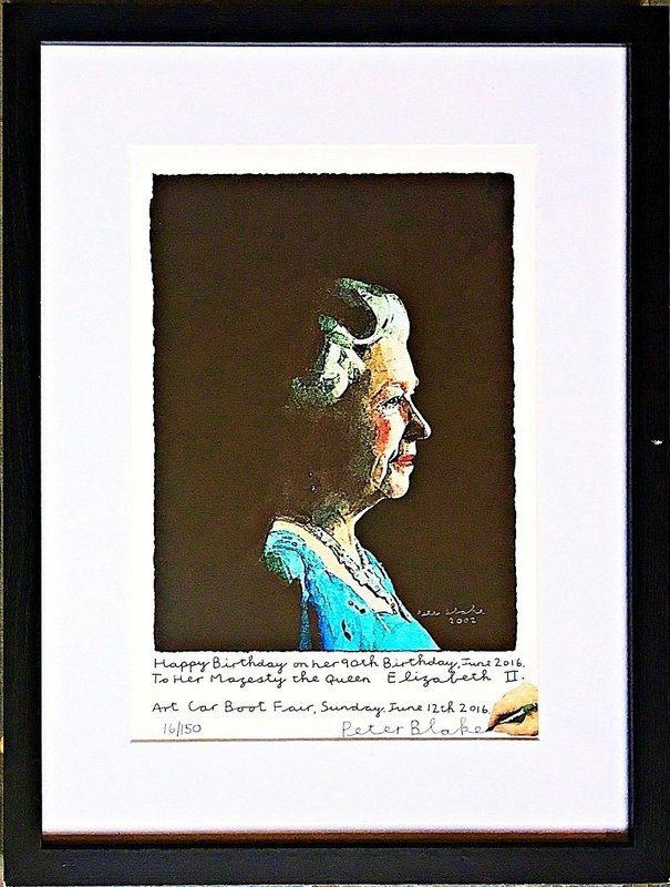 Peter Blake To Her Majesty Queen Elizabeth Ii For Sale