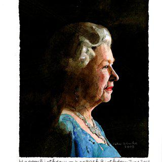 To Her Majesty, Queen Elizabeth II art for sale