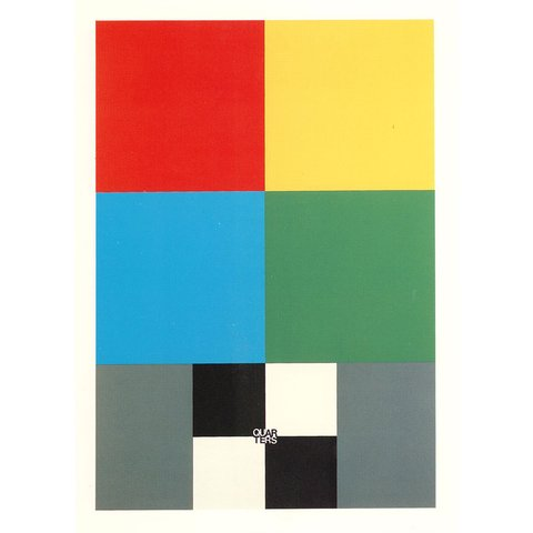 Peter Blake - Q is for Quarters, Print