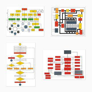 Organizational Charts art for sale