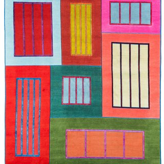 Prisons (blue, red, green) art for sale