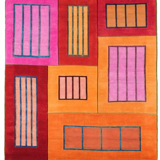Prisons (orange, pink, red) art for sale