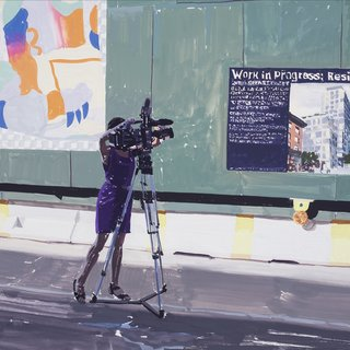 Reporter and Ad art for sale