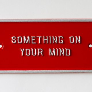 Something on your mind art for sale