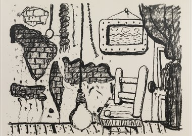 Philip Guston - East Side
