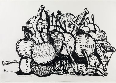 work by Philip Guston - Summer