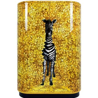 Zebra Curved Cabinet art for sale