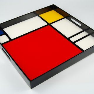 Large Square Serving Tray art for sale