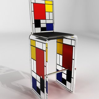 High stool art for sale